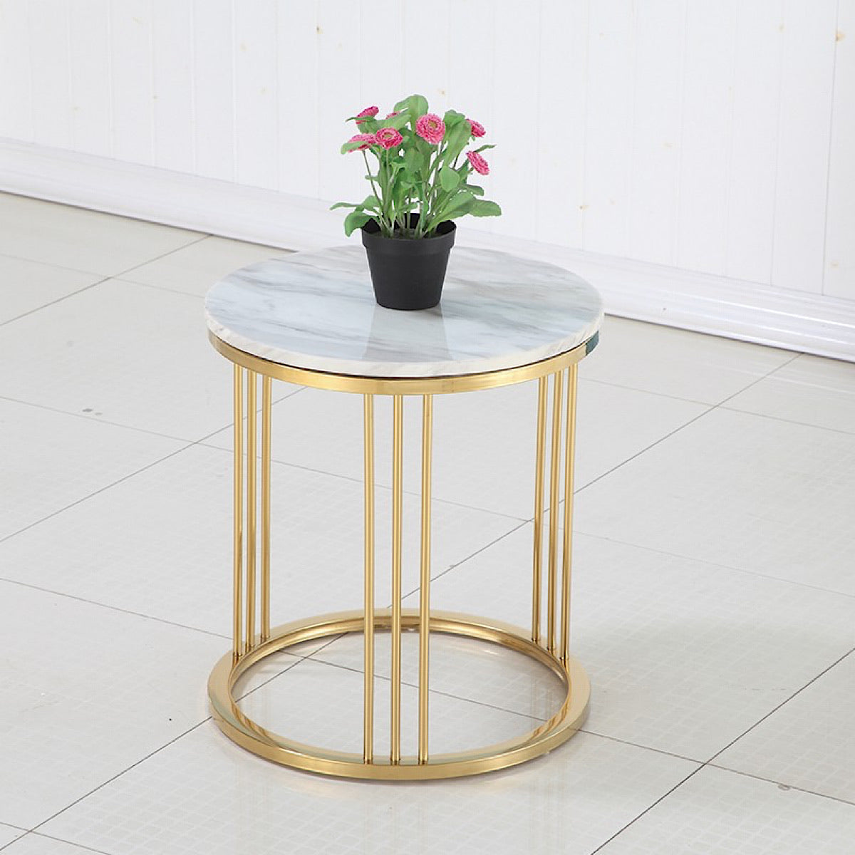 Toss Marble Side Table - mhomefurniture