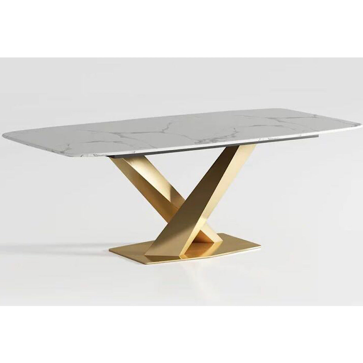 Rays Marble Dining Table - mhomefurniture