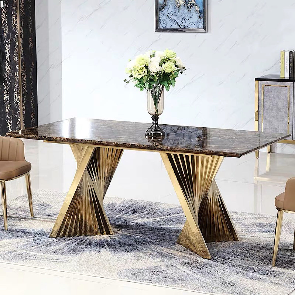 Morde Marble Table - mhomefurniture