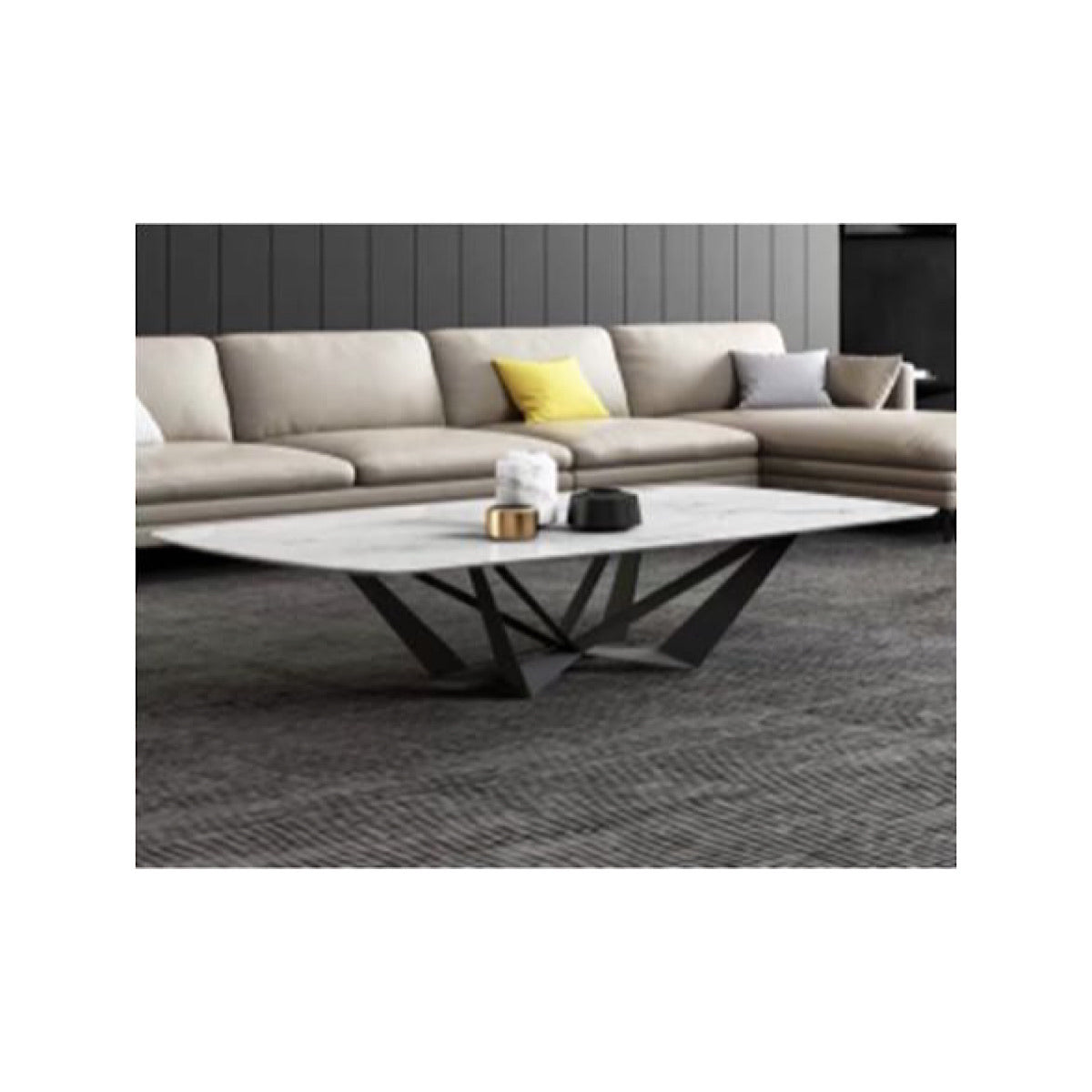 Stud Marble Coffee Table