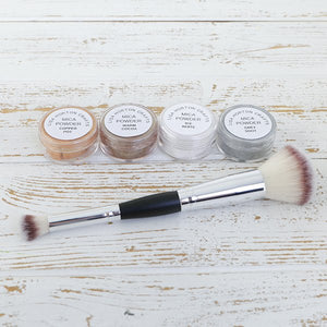 Metallic Mica Powders and Brush
