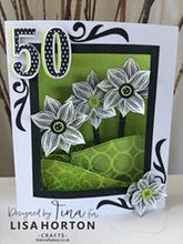 LISA HORTON CRAFTS - FOUR POINT BLOOM COMPANION STAMP