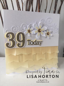 LISA HORTON CRAFTS - NUMBERS DIE