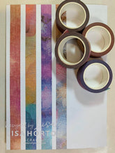 LISA HORTON CRAFTS - SET OF 4 WASHI TAPE