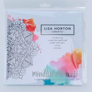 Mindful Moments - Mandala Paper Pack - Volume 1