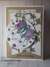 Lisa Horton Crafts - Majestic Butterflies DL Stamp set