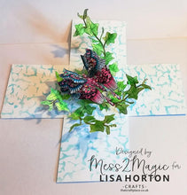 Lisa Horton Crafts - Jewelled Butterflies DL Stamp set