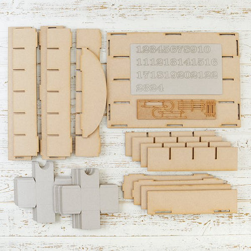 Christmas MDF Advent Calendar Self Assembly kit