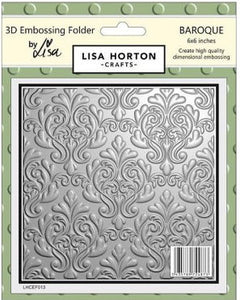 3D Embossing Folder - Baroque