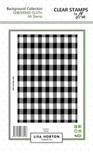Checkered Cloth A6 Stamp Set