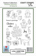 Christmas Elements A5 Stamp Set