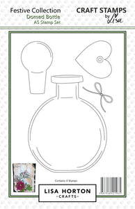 Domed Bottle A5 Stamp Set