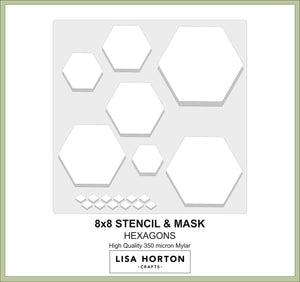 Aperture Stencils - Hexagon & Triangle