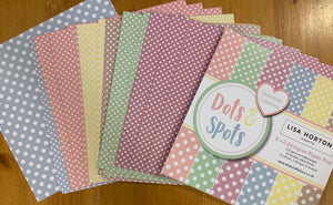Dots and Spots Pastel 6x6 Paper Pad