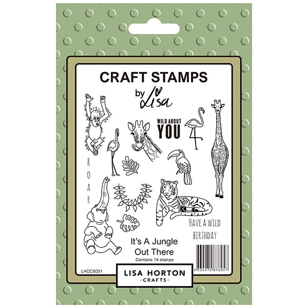 It's a Jungle Out There Stamp Set