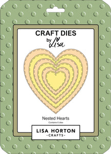Nested Hearts Die Set