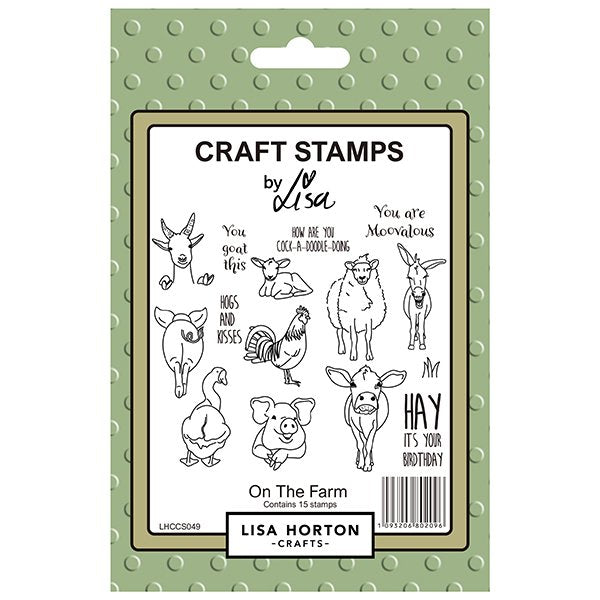 On the Farm Stamp Set