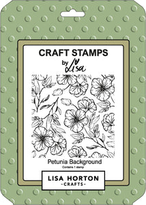 Petunia Background Stamp