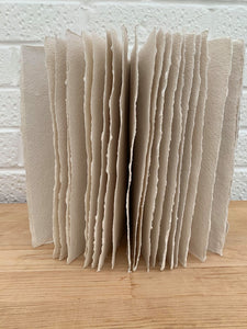Handmade Cotton Rag Book
