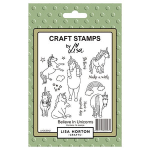 Believe in Unicorns Stamp Set