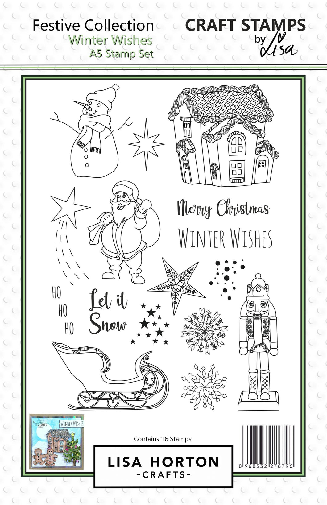 Winter Wishes A5 Stamp Set