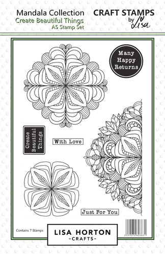 Create Beautiful Things Mandala Stamp Set