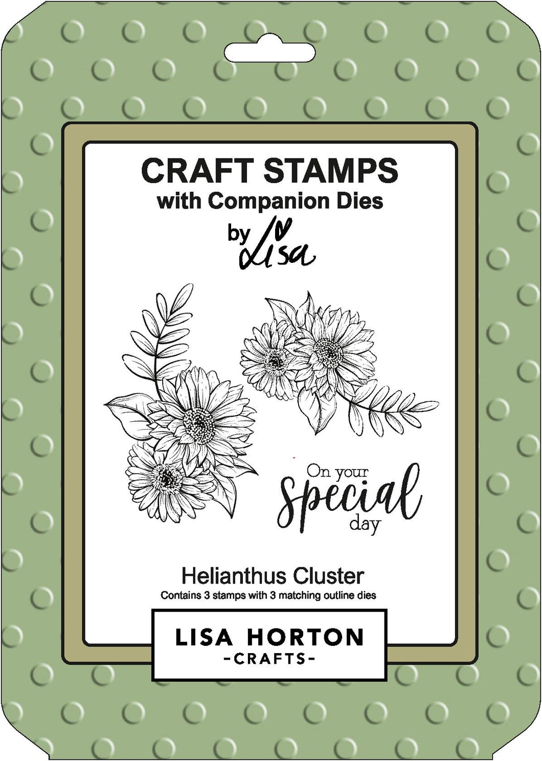 Helianthus Stamp and Die Combo
