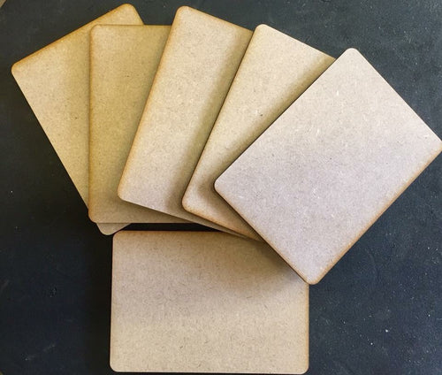 MDF Boards - PACK OF 6