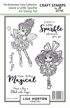 Buttonbox Fairies - Leave a Little Sparkle A5 Stamp Set