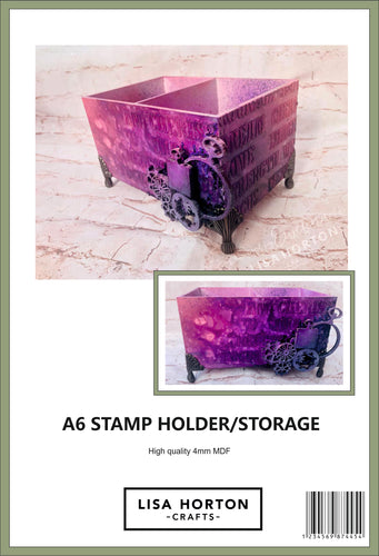 MDF A6 STAMP HOLDER / STORAGE HOLDER