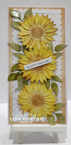 3D Embossing Folder - Sunflower