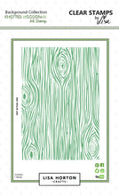 Lisa Horton Crafts - Woodgrain A6 Stamp Set