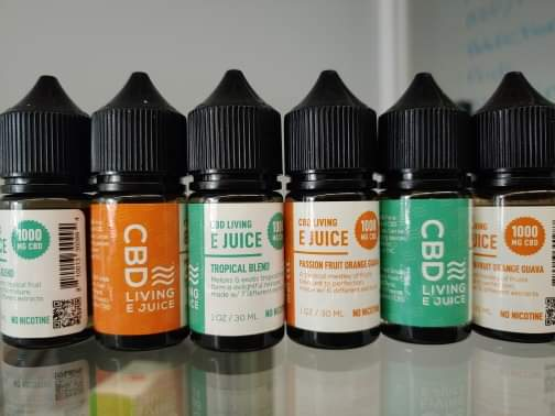 CBD Living E Juice