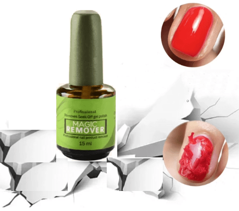 CRACKLE™ Burst Magic Nail Gel Remover