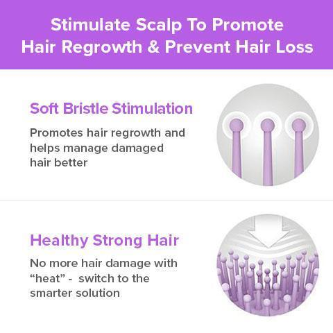 Dual Ionic™ Anti -Static Hair Straightening Brush