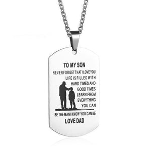 LOVE TOKEN™ DAUGHTER- SON PENDANT NECKLACE