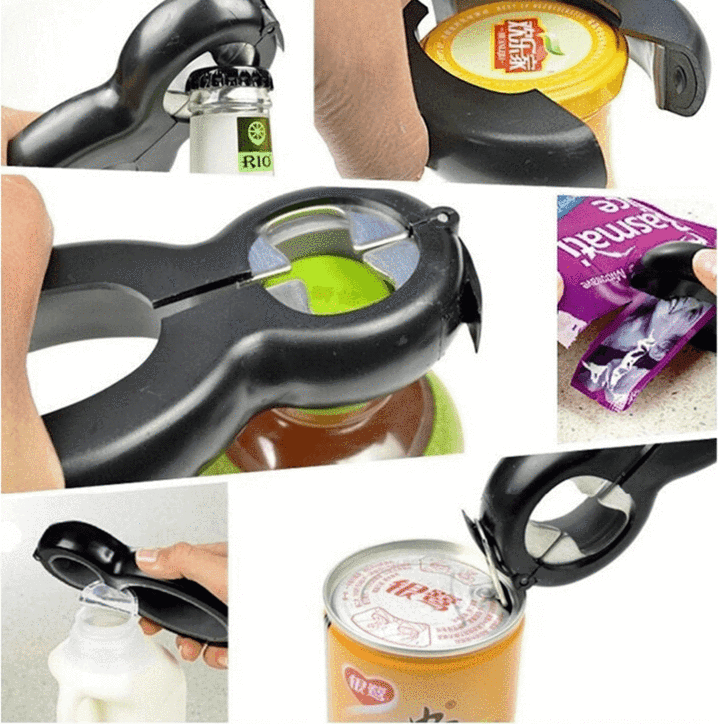 Multi- Functional All In One Opener