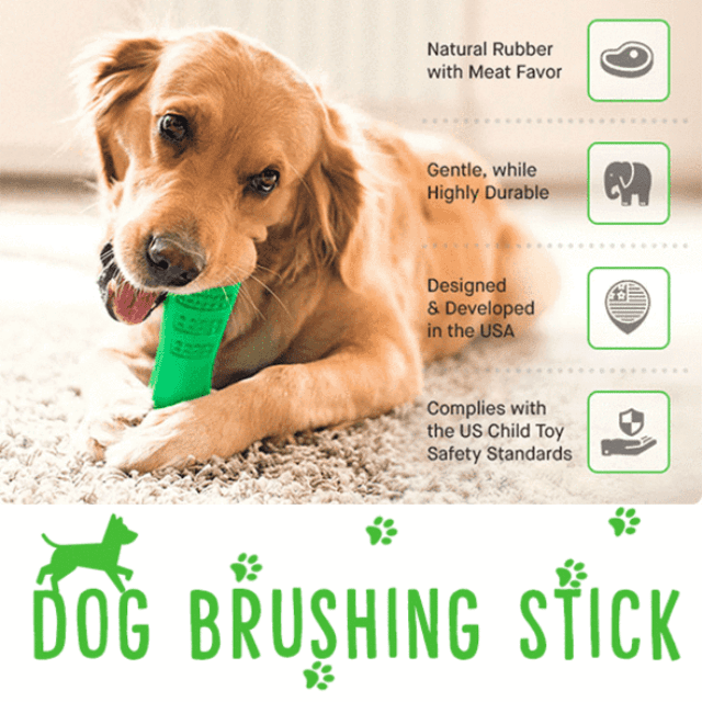 Tooth Friendly™ Non-Toxic Dog Toothbrush