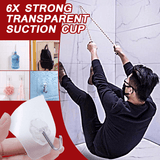 Strong Self Suction Wall Hooks (10 PCS)