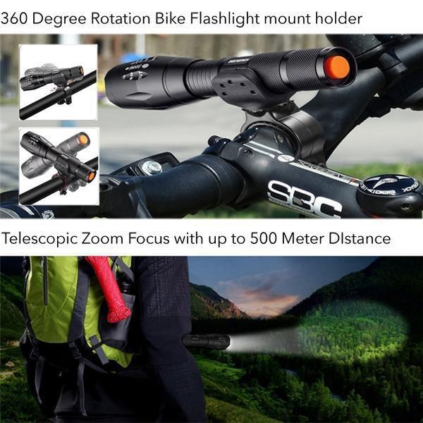 NightStick™ Powerful LED Rechargeable Flashlight