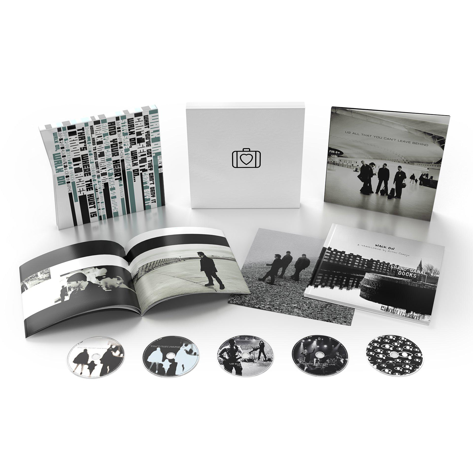 All That You Can't Leave Behind (20th Anniversary) Deluxe CD Boxset-U2