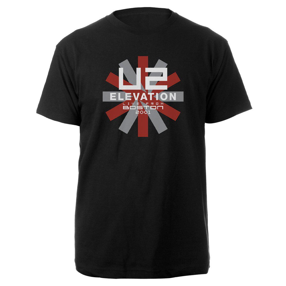Elevation Live From Boston Black Tee