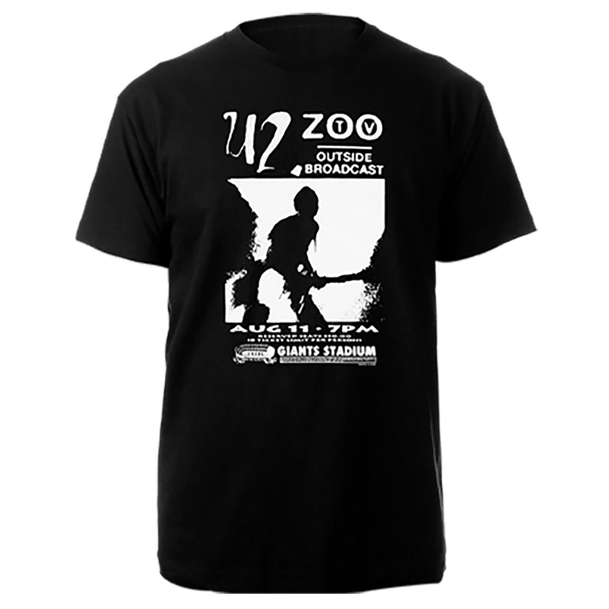 Zoo TV Outside Broadcast Black Tee-U2