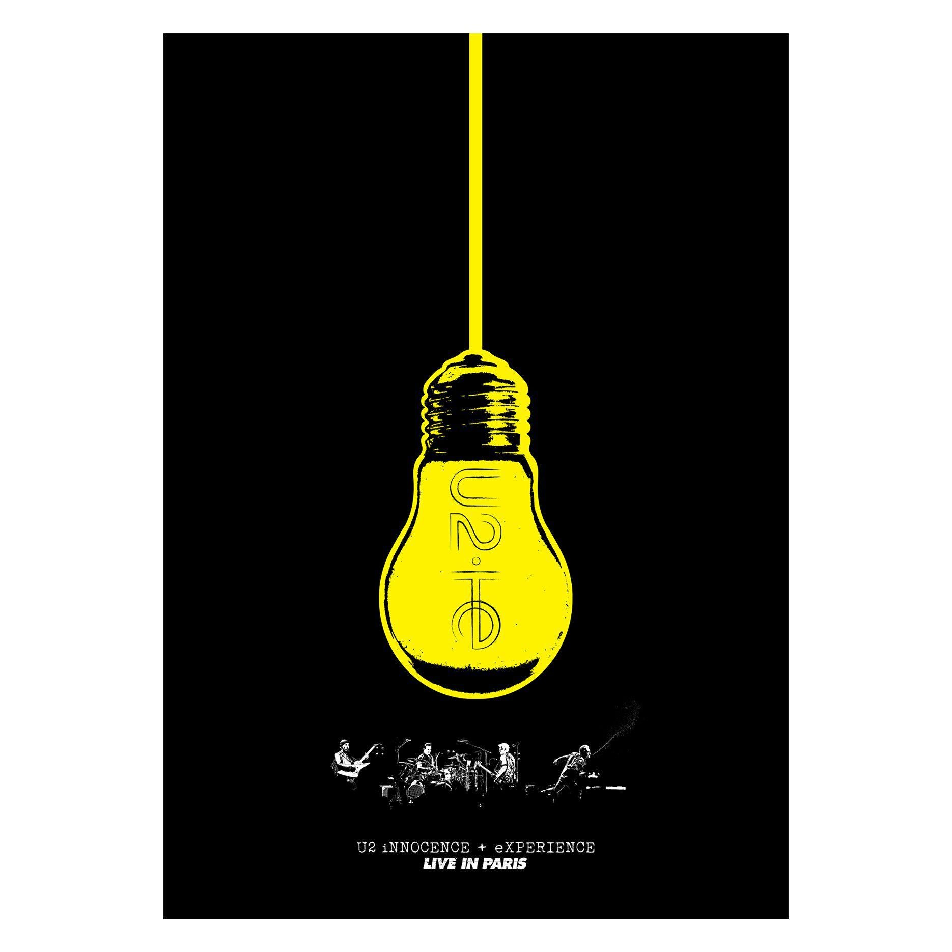 IE Limited Edition Screenprint-U2