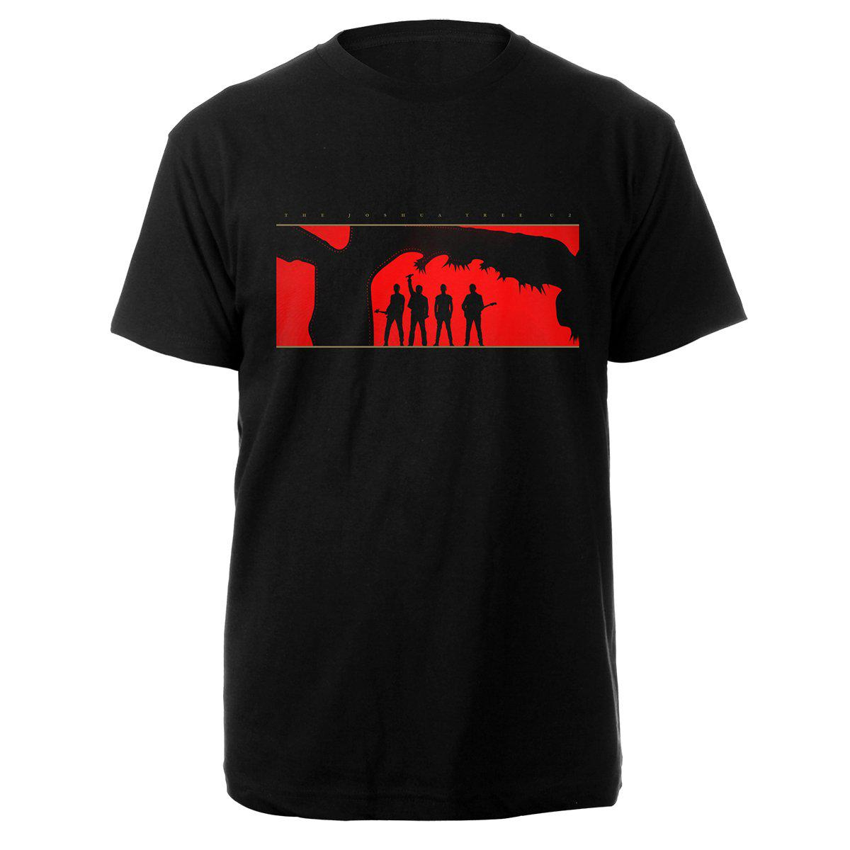The Joshua Tree 2019 Stage/Dates T-Shirt