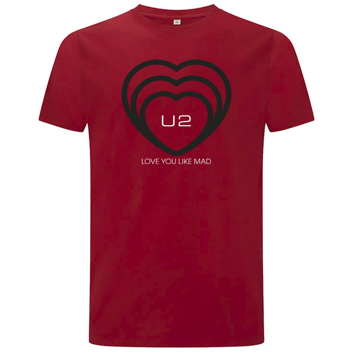 ATYCLB Love You Like Mad Red Tee