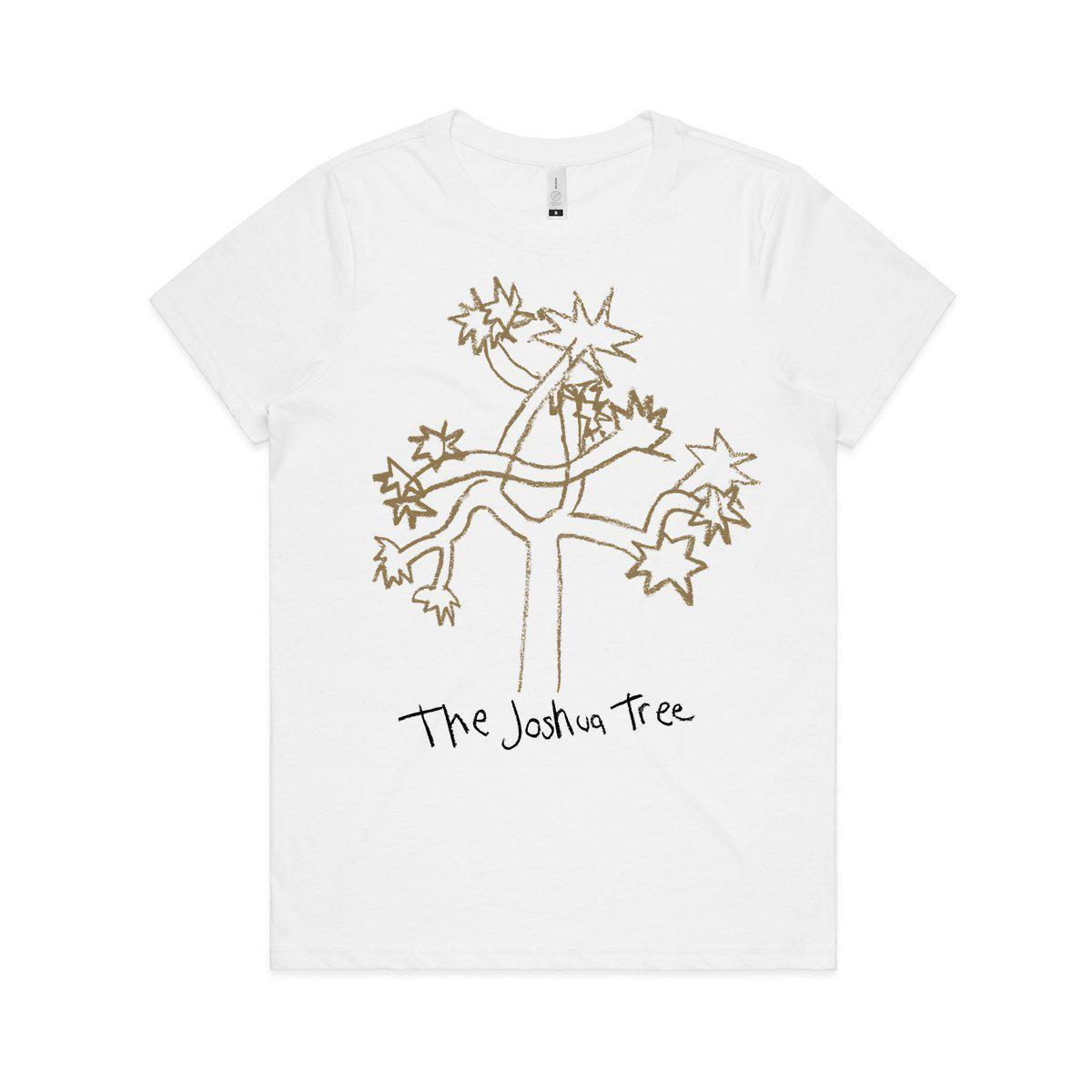 Joshua Tree Cartoon Women's T-shirt-U2