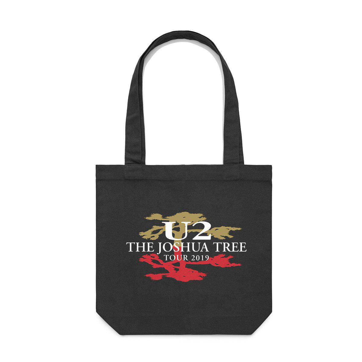 Joshua Tree Tour Logo Tote Bag-U2