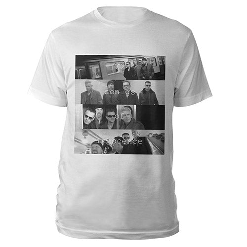 Songs Of Innocence Multiple Photo T-shirt (White)