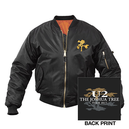 The Joshua Tree Tour Bomber Jacket-U2